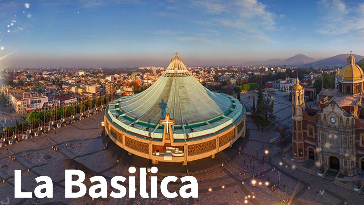 La Basilica de Guadalupe Tour - Imagenes Aereas - YouTube