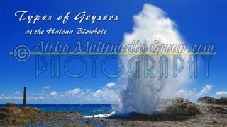Halona Blowhole Types Of Geysers