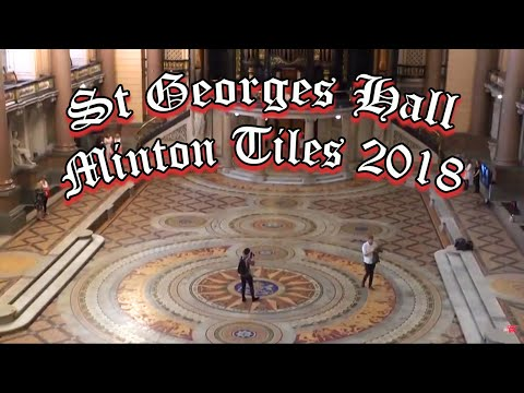 Minton Tiles In St Georges Hall Liverpool 2018