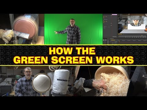 How The Green Screen Works - A Quick Look