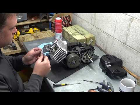 DFHS Tomos Restoration Ep. 5 - A35 Engine Rebuild/ 70cc Kit Install