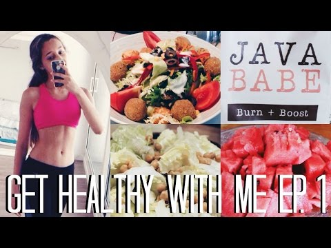 HEALTHY ICE CREAM, WORKING OUT AND FAT BURNING COFFEE?   Get Healthy With Me Ep. 1