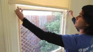 How to install double-glazing plastic on your windows