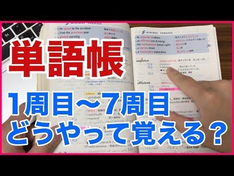 �れ�完璧��語帳暗記1週間�スケジュール�(システム英�語使��説明���)