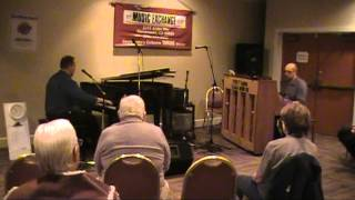 The Flintstones Theme improvised 2-piano duet excerpt, Brian Holland & Martin Spitznagel
