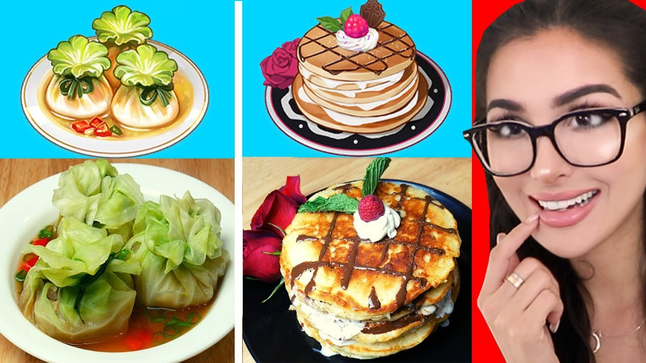 Video Game Food in Real Life