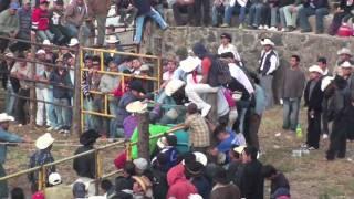 1er dia de fiesta en Huecorio 2010