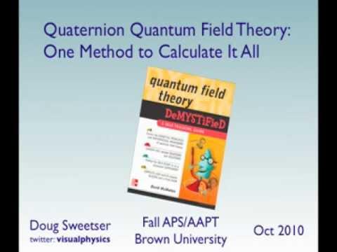 APS Talk: Quaternion Quantum Field Theory