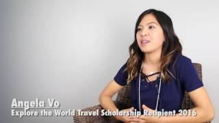 HI USA's Explore the World Travel Scholarship