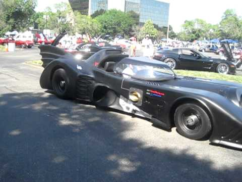 Incredible Boeing jet turbine/helicopter powered Batmobile!!!