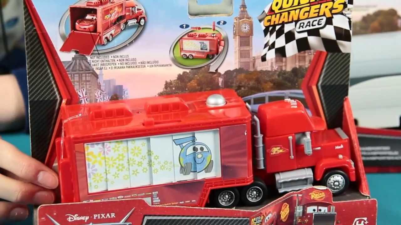 Seria Serie Quick Changers Szybka Zmiana Cars 2
