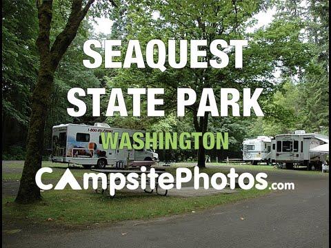 Seaquest State Park Washington Campsite Photos Youtube