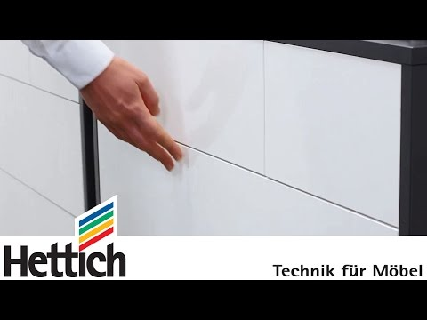 Hettich Push To Open Silent For Drawers - NAA Ltd