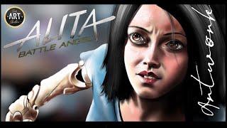 ALITA Battle Angel | Digital Painting 2019