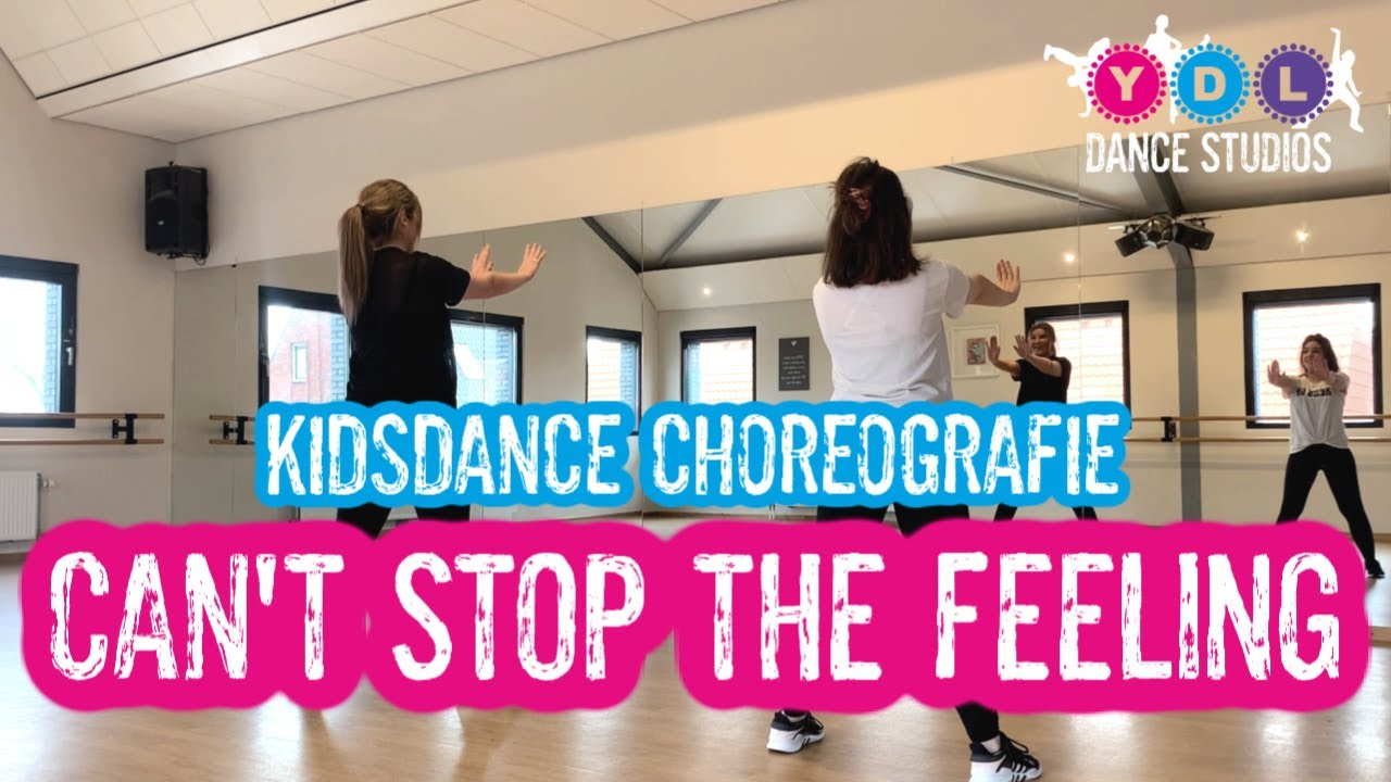 Kids Dance Choreografie 'Can't Stop The Feeling - Justin Timberlake' | YDL Dance Studios