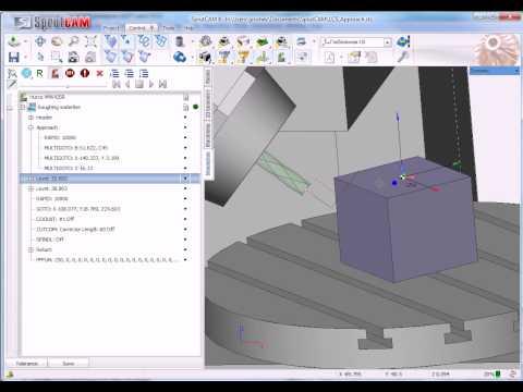 SprutCAM: Basics of 5 axis milling (tutorial)