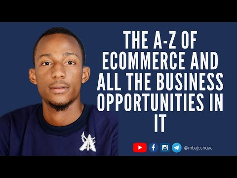 THE A-Z OF E-COMMERCE: How To Start A Profitable Mini Importation And ECommerce Business In Nigeria.