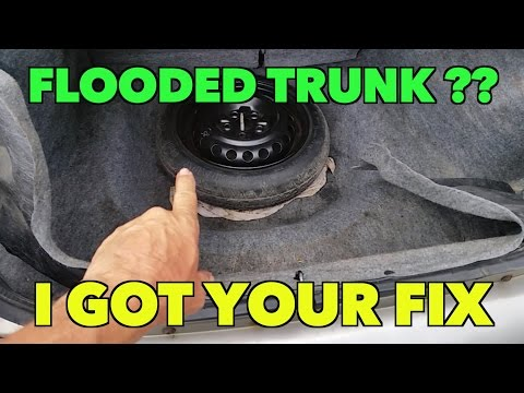 FLOODED Dodge Neon...TRUNK?? How To Fix It.