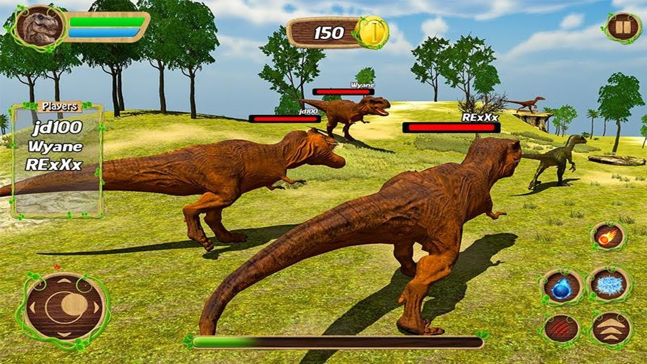 Dinosaur Online Simulator Games Android Gameplay - YouTube