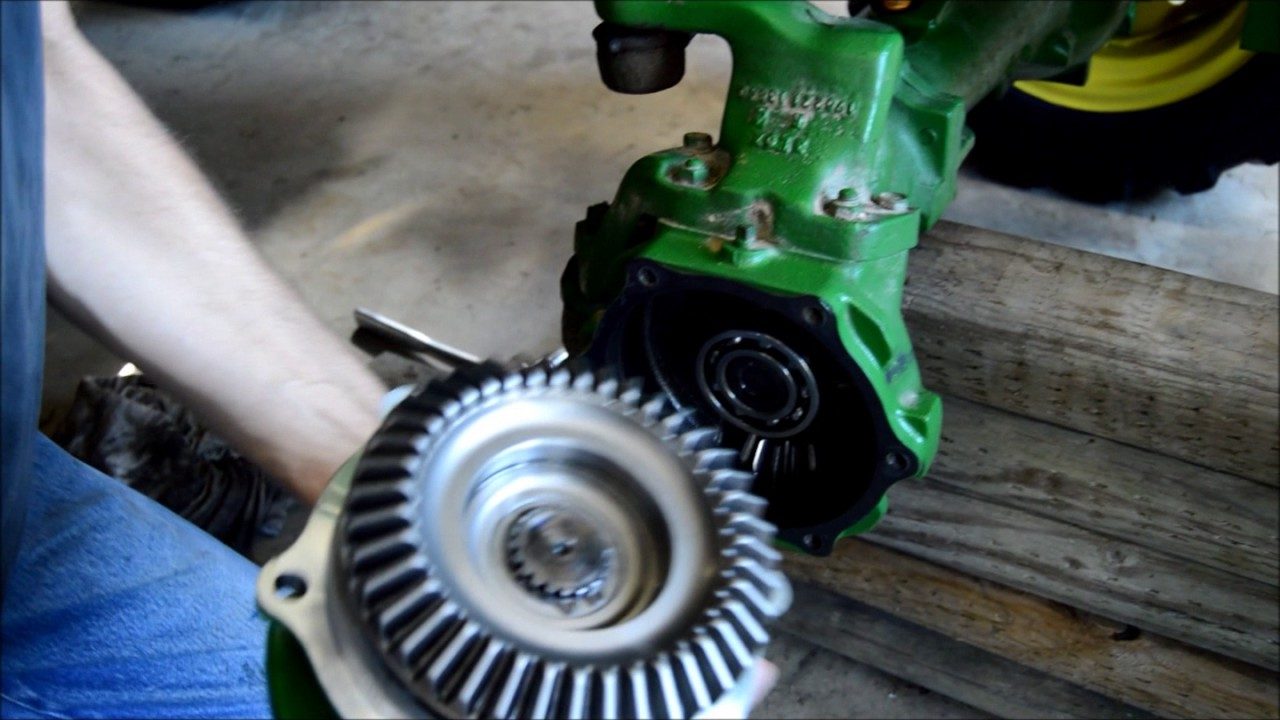 maxresdefault part 4 john deere 790 mfwd outer bearing and seal replacement youtube