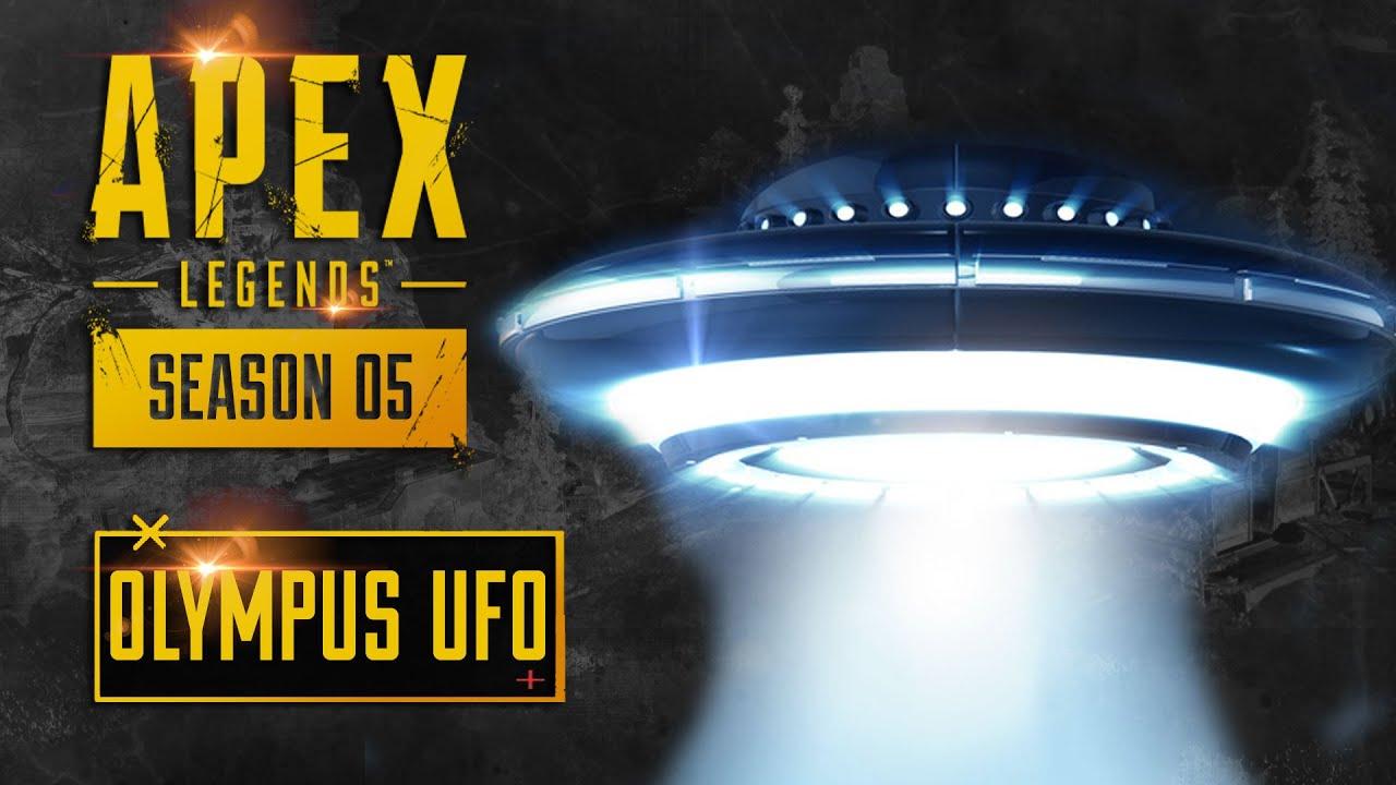 *NEW* Mysterious UFO Landing in Apex Legends Season 5