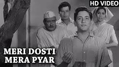 Meri Dosti Mera Pyar Video Song (HD) | Dosti | Mohammad Rafi Hit Songs | Laxmikant Pyarelal