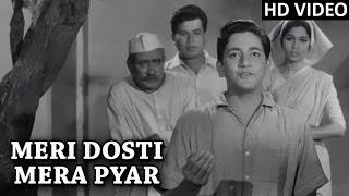 Meri Dosti Mera Pyar Video Song (HD)   Dosti   Mohammad Rafi Hit Songs   Laxmikant Pyarelal