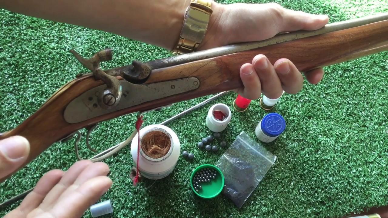 รีวิวปืนแก๊ปไทย(หาชมยาก)