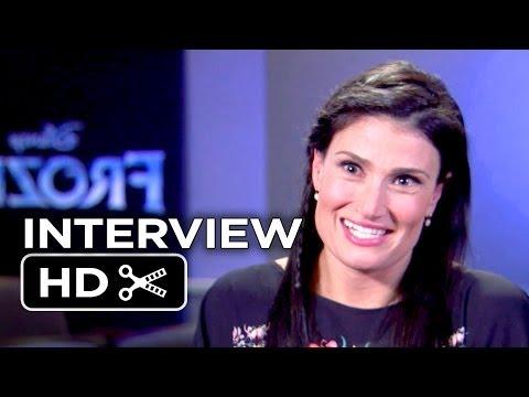 Frozen Interview -  Idina Menzel  (2013) - Disney Animated Movie HD