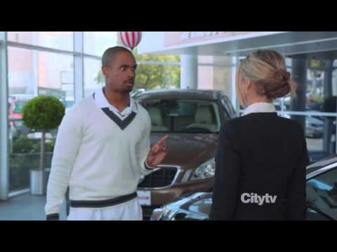 Damon Wayan Jr as a Trophy Wife Happy Endings
