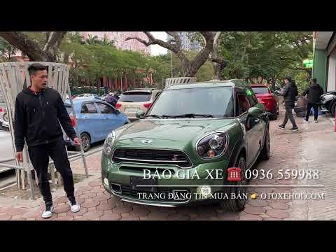 Bán xe ô tô cũ Mini cooper S Countryman model 2017 chạy 25.000km