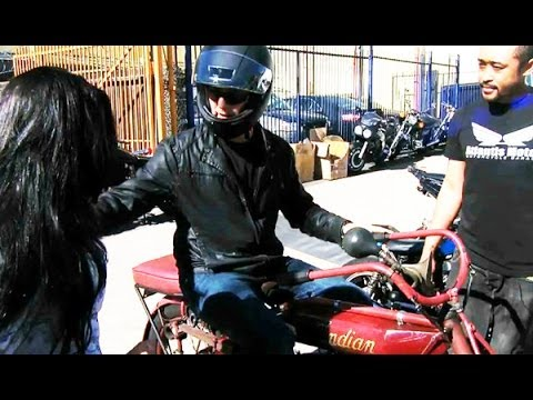 Auction Hunters: Riding a 100 Year Old Motorcycle