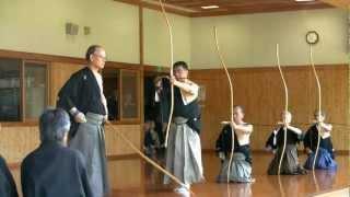 Kyudo 弓道 2012 九州錬士臨時中央審査 特別演武