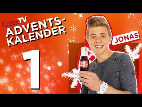 CokeTV Adventskalender: Türchen 1 mit Jonas | #CokeTVMoment