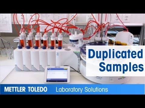 Simultaneous Titration Of Duplicated Samples