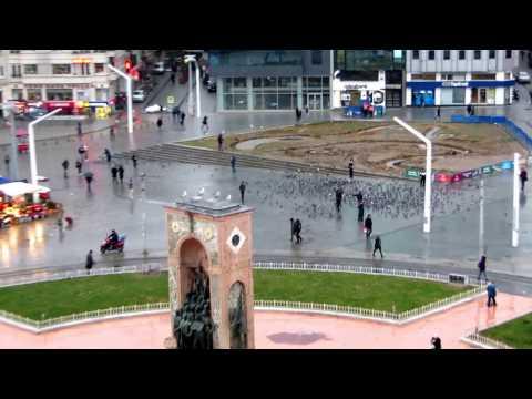 Taksim Square Istanbul 16122016
