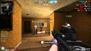 District 187 : Sin Streets online : M4A1 gameplay 1