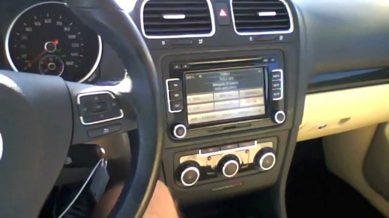 2010 Volkswagen Jetta Wagon 2.0L TDI Start Up, Quick Tour, & Rev - 44K (Diesel) - YouTube