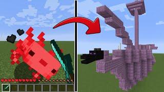 【マイクラ】モブを倒すと建造物が出てくる世界でサバイバルPVPしたらヤバすぎた!?