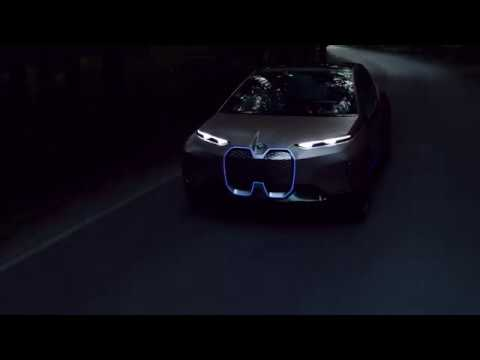 The BMW Vision iNEXT. Driving Shots.