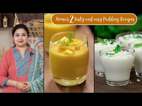 easy-2-pudding-recipes-|-mango-pudding-|-coconut-milk-pudding-|-dessert-recipes-|-healthy-drinks