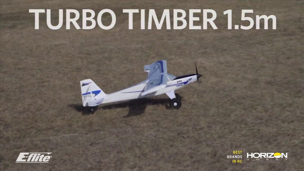 Quick Look: E-flite Turbo Timber 1 5m