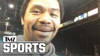 Manny Pacquaio Says He Can Beat Floyd Mayweather Now That He's Healthy