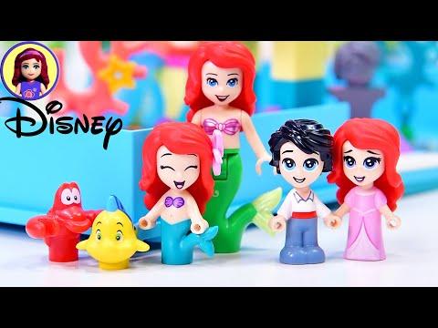 Lego Disney Princess Ariel's Storybook Adventure Build