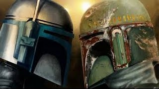 Star Wars Boba and Jango Fett