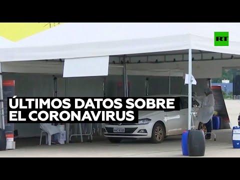 RT en Español: Últimos datos sobre la situación del coronavirus en el mundo