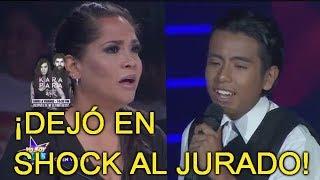 Yo Soy Kids - Alejandro Fernandez conmocionó al jurado con