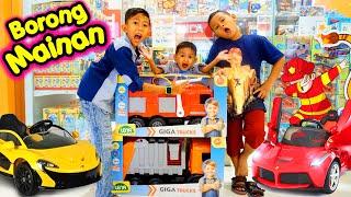 Drama Praya Borong Mainan Truck Besar Lagi di Mall | Banyak Mainan Lucu Lucu