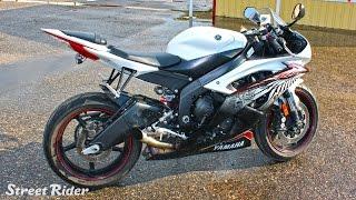 Тест-драйв мотоцикла Yamaha YZF-R6(Мотоцикл - сексуальная стерва, от которой возбуждаешься! :D Большое спасибо Андрею за предоставленный мотоц..., 2015-10-29T13:15:08.000Z)