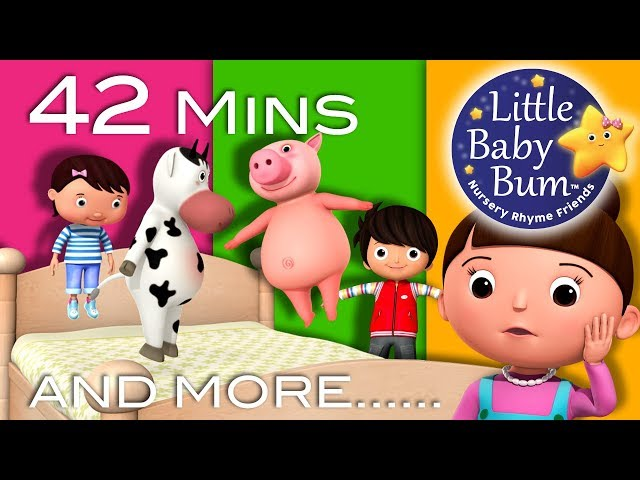 Little Baby Bum | Friends Jumping on The Bed |  Nursery Rhymes for Babies | Songs for Kids